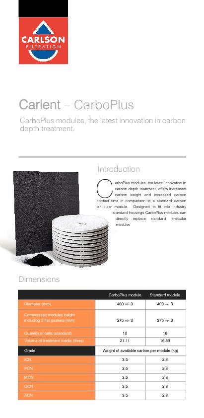 CarboPlus Brochure