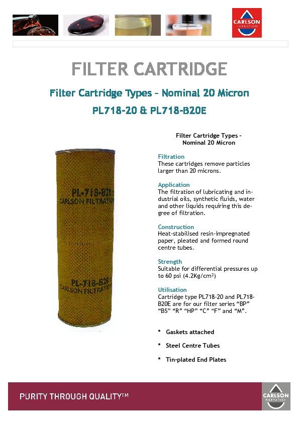 PL718 | 20 | PL718 | B20E Brochure