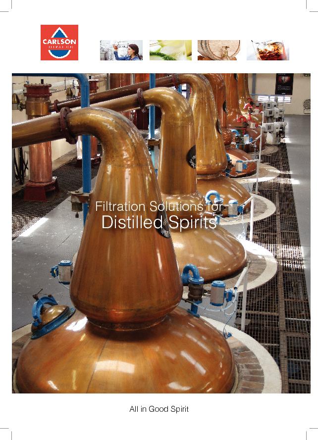 Filtration solutions for distilled spirits